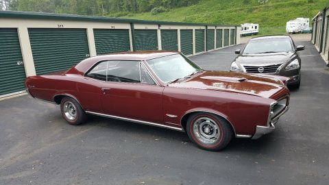 1966 Pontiac GTO Hardtop Restored Tri-Power 4-speed for sale
