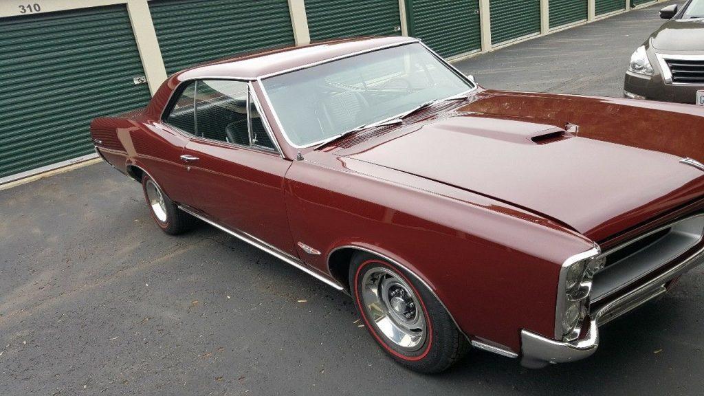 1966 Pontiac GTO Hardtop Restored Tri-Power 4-speed