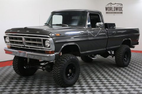 1971 Ford F-100 Restored 390 Lifted 4-Speed 3/4 for sale