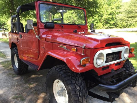 1972 Toyota Land Cruiser FJ40 Numbers Matching Frame Off Restoration for sale