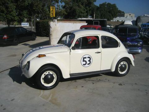 Restored 1971 Volkswagen Beetle Herbie Love bug for sale