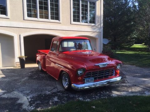 custom 1955 Chevrolet Pickups 3100 restored for sale