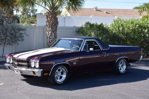four on the floor 1970 Chevrolet El Camino SS 454 restored for sale