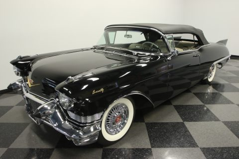 rare 1957 Cadillac Eldorado Biarritz Convertible restored for sale