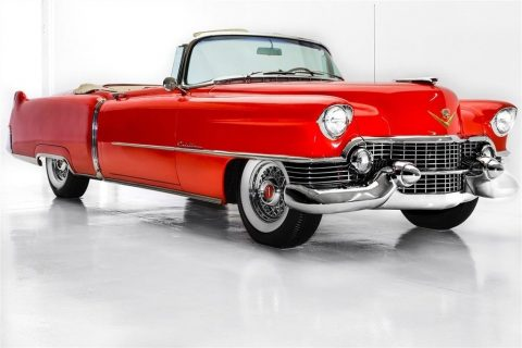 restored 1954 Cadillac Series 62 Convertible 4 year long restoration for sale