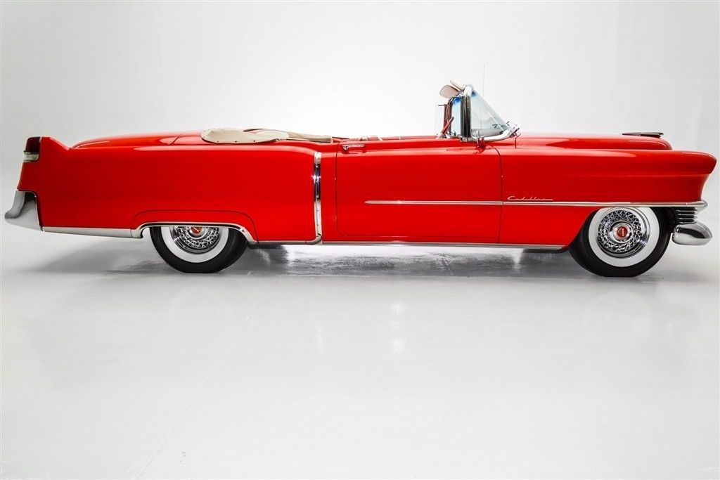 Restored 1954 cadillac series 62 convertible 4 year long for American restoration cars for sale