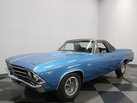 restored 1969 Chevrolet El Camino vintage for sale