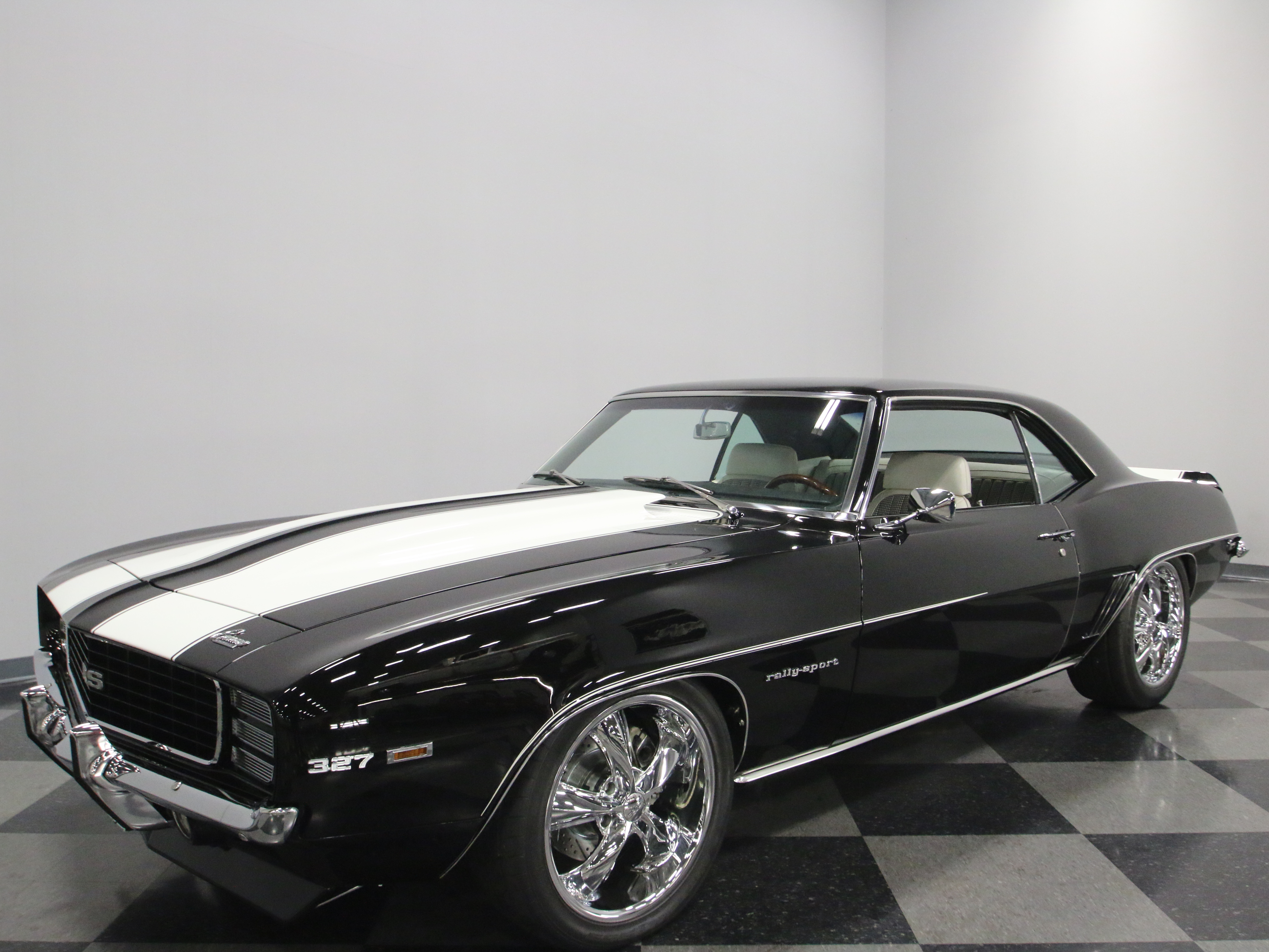 upgraded engine 1969 chevrolet camaro rs coupe restored for sale. Black Bedroom Furniture Sets. Home Design Ideas
