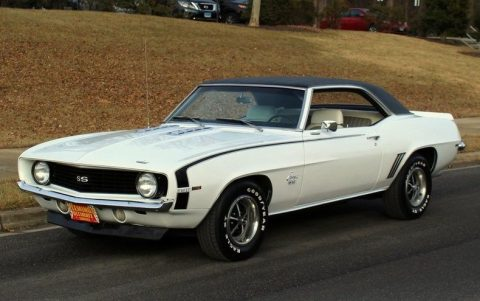 detailed 1969 Chevrolet Camaro SS 396 restored for sale