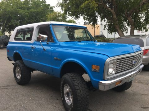 fully restored 1971 Chevrolet Blazer 4×4 restored for sale