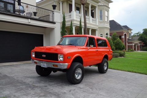 lifted offroad 1972 Chevrolet Blazer restored for sale