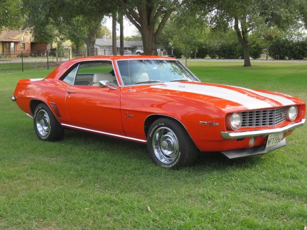 long restoration 1969 Chevrolet Camaro Z28 Trim restored for sale