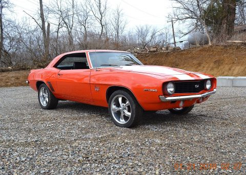 nuts and bolts resto 1969 Chevrolet Camaro SS 350 restored for sale