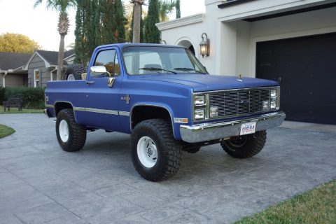 very nice 1985 Chevrolet Blazer K5 offroad restored for sale