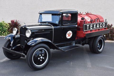 vintage and rare 1931 Ford Pickups Tanker restored for sale