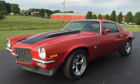 carefully renewed 1971 Chevrolet Camaro SS restored for sale