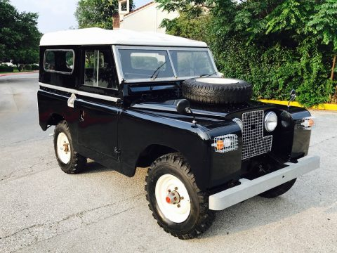 Completely Restored 1967 Land Rover Defender Series 2a offroad restored for sale