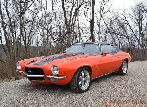gorgeous 1970 Chevrolet Camaro SS 396 restored for sale