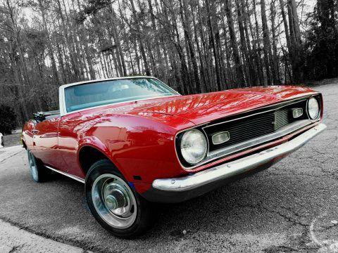 1968 Chevrolet Camaro – fully restored for sale