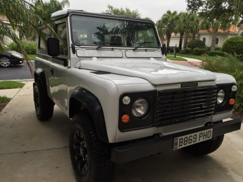 completely repaired 1984 Land Rover Defender offroad restored for sale