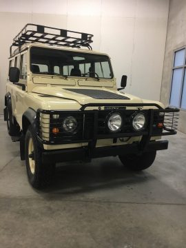 frame off 1984 Land Rover Defender 110 restored for sale
