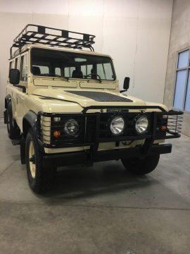 frame off 1984 Land Rover Defender 110 restored for sale
