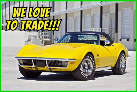 GREAT 1971 Chevrolet Corvette Stingray Convertible for sale