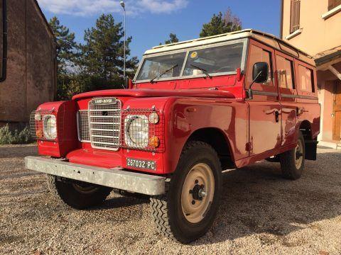 rare power steering 1981 Land Rover Defender restored for sale