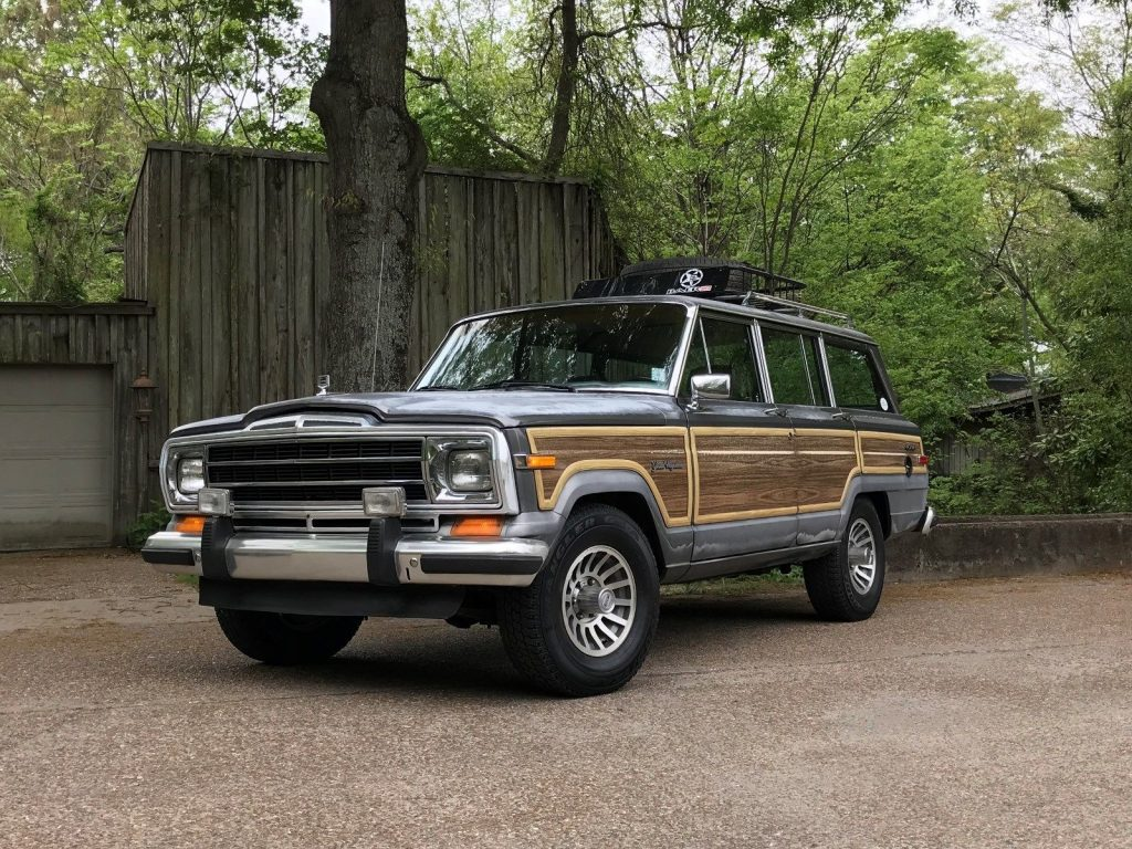 Jeep Grand Wagoneer 2018 >> 1988 Jeep Grand Wagoneer Drives Like A Dream For Sale