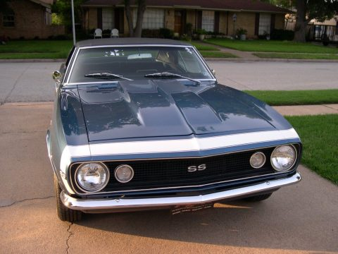 nicely built 1967 Chevrolet Camaro SS restored for sale