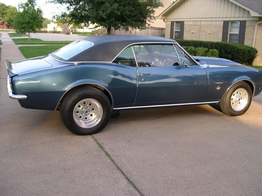 nicely built 1967 Chevrolet Camaro SS restored
