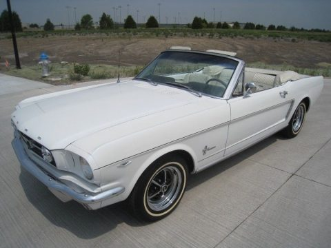 4 speed 1965 Ford Mustang Convertible restored for sale