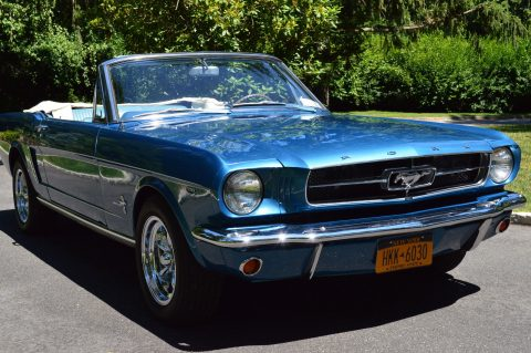 8k miles since resto 1965 Ford Mustang Convertible restored for sale
