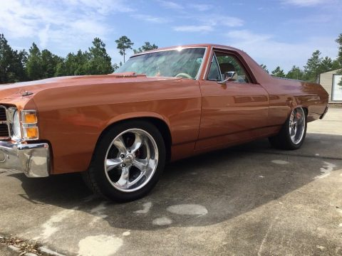 custom 1971 Chevrolet El Camino restored for sale