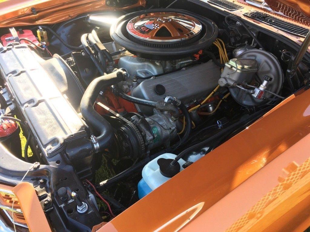 custom 1971 Chevrolet El Camino restored