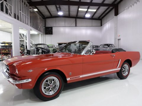 GT options 1965 Ford Mustang Convertible restored for sale