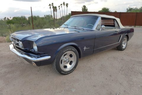 rock solid 1965 Ford Mustang Convertible Restored for sale