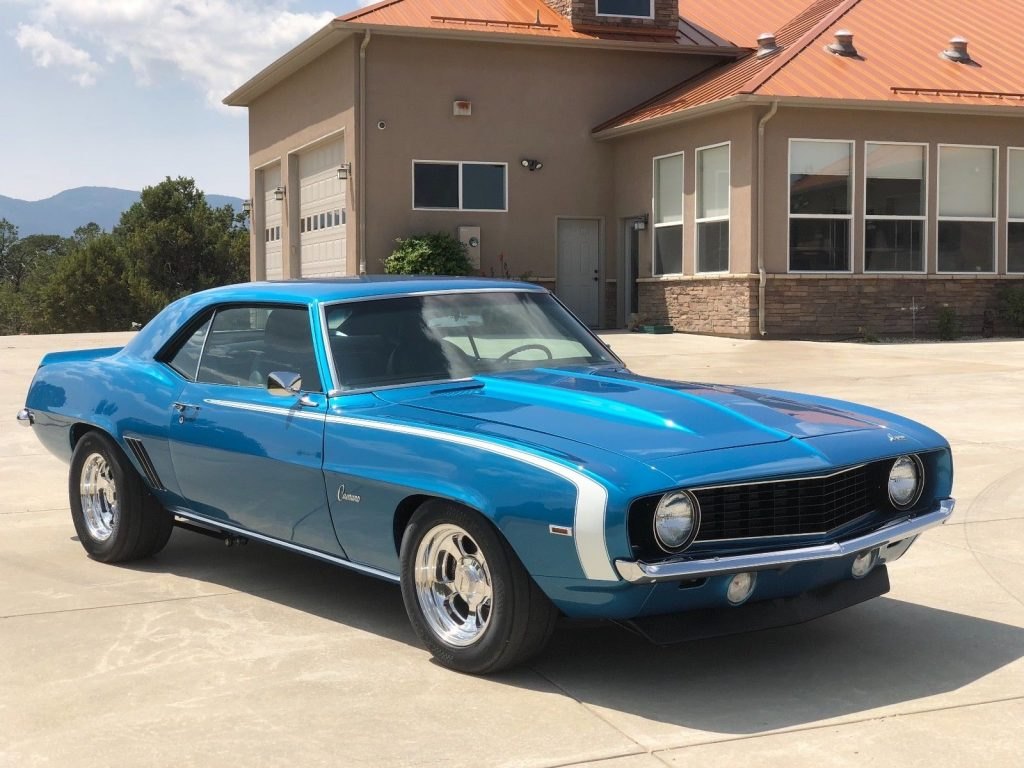 beautifully customized 1969 Chevrolet Camaro restored