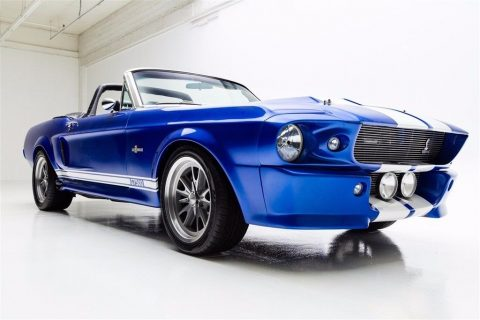 Eleanor 1967 Ford Mustang Convertible restored for sale