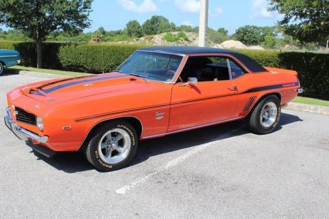 highly detailed 1969 Chevrolet Camaro Yenko SC restored for sale