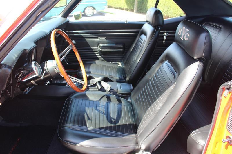 highly detailed 1969 Chevrolet Camaro Yenko SC restored