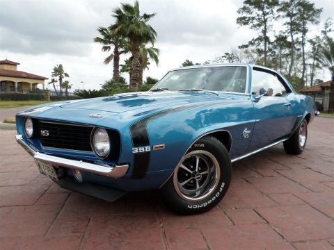 highly original 1969 Chevrolet Camaro 396SS restored for sale