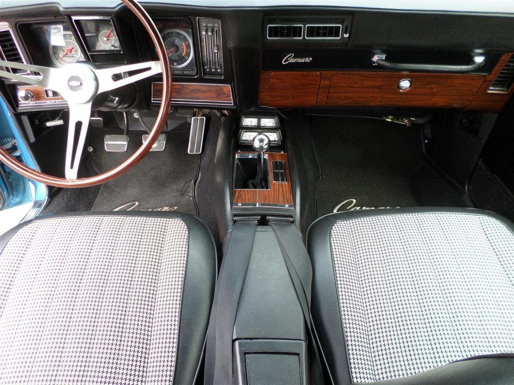 highly original 1969 Chevrolet Camaro 396SS restored
