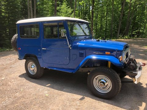 immaculate 1974 Toyota Land Cruiser FJ 40 restored for sale