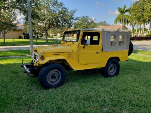 impeccable 1978 Toyota Land Cruiser FJ43 restored for sale