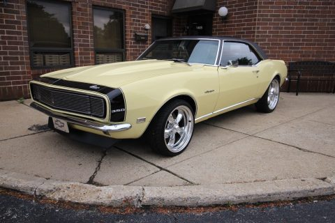 nicely detailed 1968 Chevrolet Camaro RS restored for sale