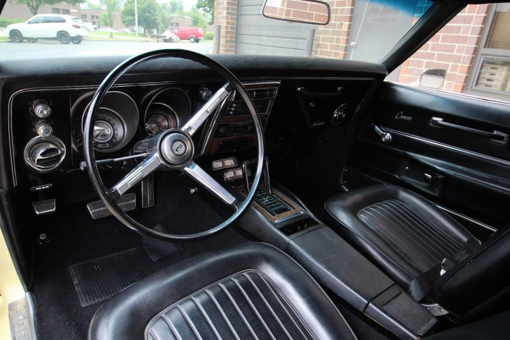 nicely detailed 1968 Chevrolet Camaro RS restored