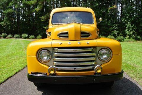 older restoration 1949 Ford F1 Pickup restored for sale