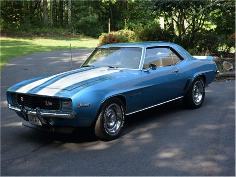 rare 1969 Chevrolet Camaro Rally Sport restored for sale
