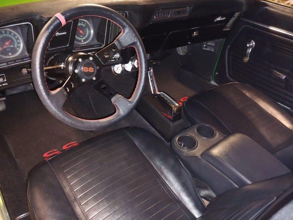 restomod 1969 Chevrolet Camaro SS restored